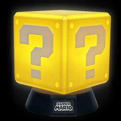 Cubo con punto interrogativo