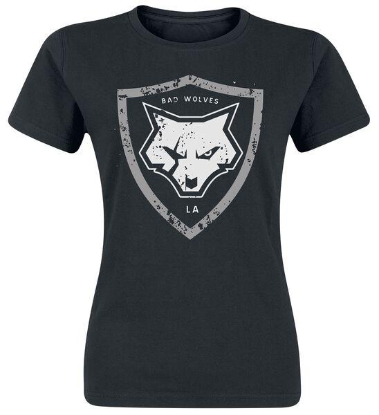 Distressed Shield Logo T-Shirt