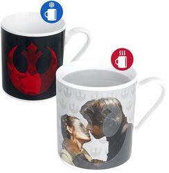 Princess Leia & Han Solo - Heat-Change Mug