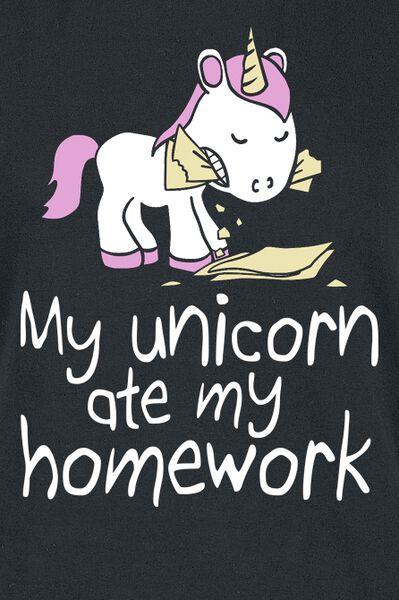 My i Tutti prodotti T Shirt Homework Unicorn recensioni 2 Ate Unicorn My rB6wrzq
