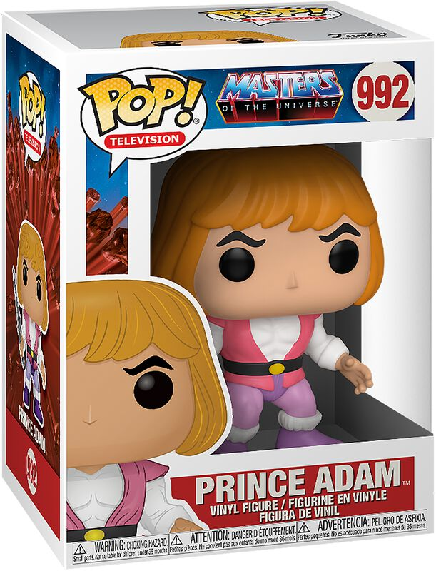 Prince Adam Vinyl Figure 992
