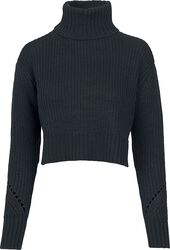Ladies HiLo Turtleneck Sweater