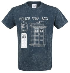 Police Box - Blueprint
