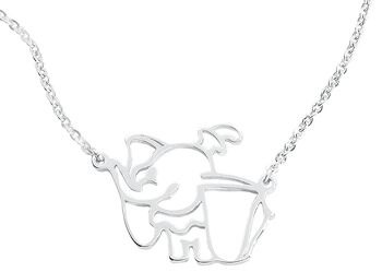 Disney by Couture Kingdom - Cute Outline Necklace