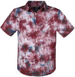 Short-Sleeve Shirt with Colourful Batik Pattern