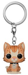 Goose the Cat Pocket POP! Keychain