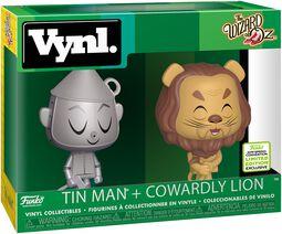 Il mago di Oz ECCC 2019 -  Tin Man + Cowardly Lion (VYNL) Vinyl Figure