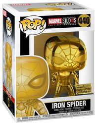 Marvel Studios 10 - Iron Spider (Chrome) Vinyl Figure 440