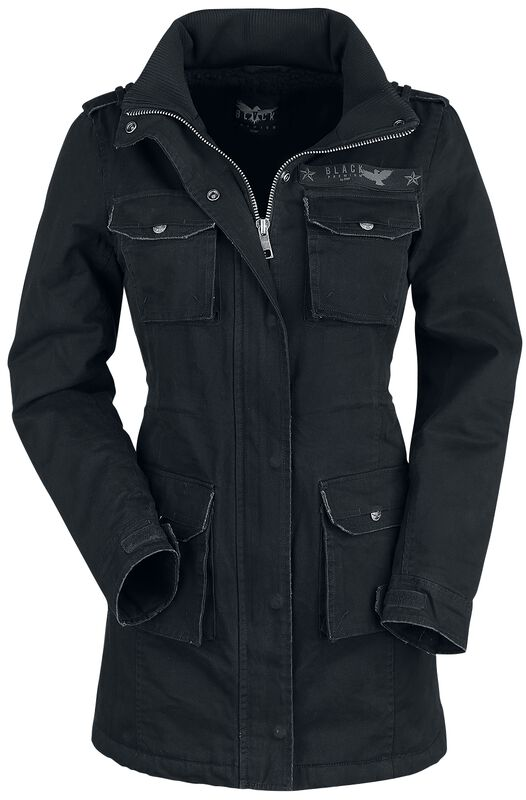 Ladies Field Jacket | Black Premium by EMP Giacca invernale | EMP