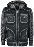 Vintage Worker Hoodie Jacket