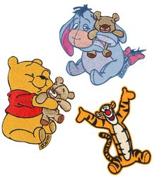 Winnie the Pooh Patch Set