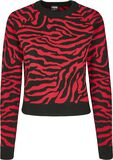 Ladies Short Tiger Sweater