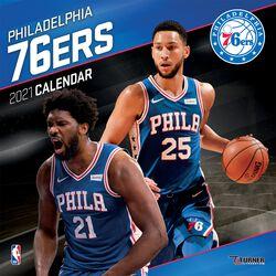 Philadelphia 76ers - Calendar 2021