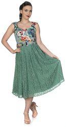 Mixed Fabric Dress
