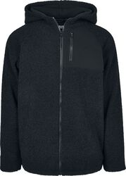 Hooded Sherpa Zip Jacket