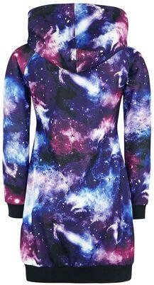 Dress with galaxy print