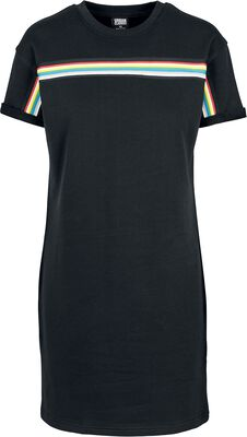 Ladies Multicolor Taped Terry Dress