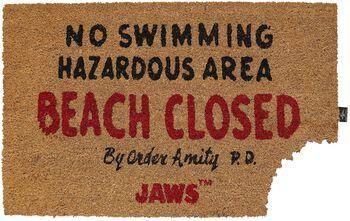 Lo squalo Beach Closed