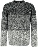 Knitted Melange Pullover