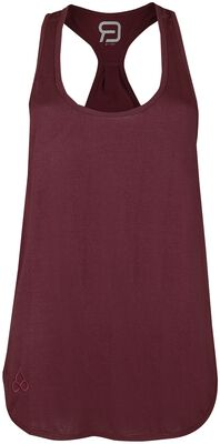 Sport and Yoga - Red Top with Racerback