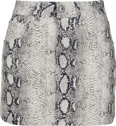 Ladies Snake Stretch Twill Skirt