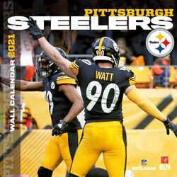 Pittsburgh Steelers - 2021 Calendar