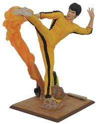 Kicking Bruce Lee Statue