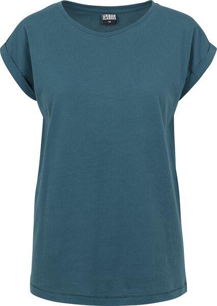 Ladies Extended Shoulder Tee T-Shirt