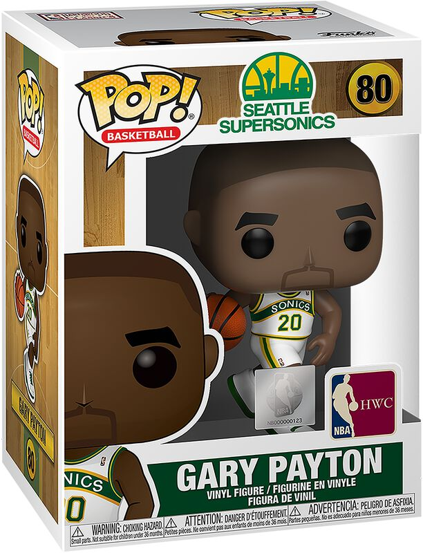 Seattle SuperSonics - Gary Payton Vinyl Figure 80