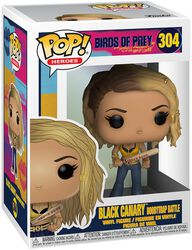 Black Canary Boobytrap Battle Vinyl Figure 304
