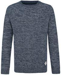 Knitted Melange Sweater