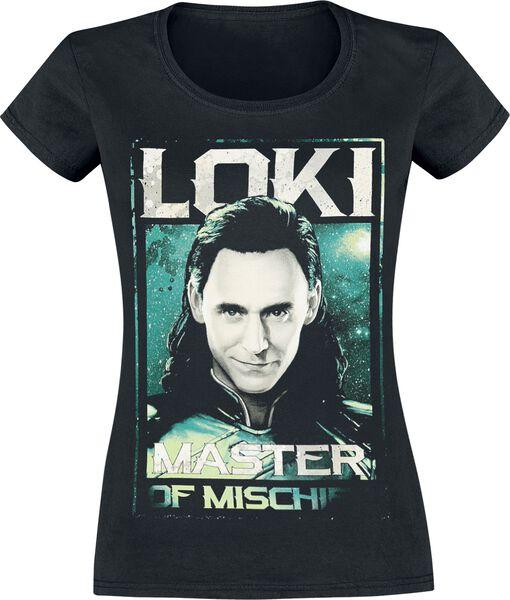 Ragnarok - Loki - Master Of Mischief T-Shirt 4 recensioni