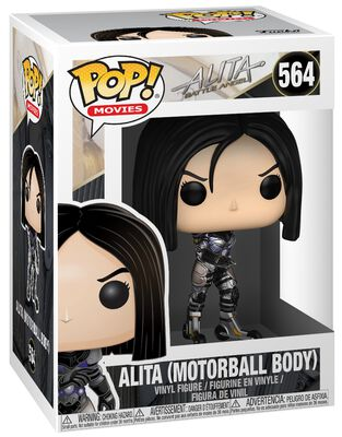Alita: Battle Angel Alita (Motorball Body) Vinyl Figure 564