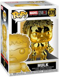Marvel Studios 10 - Hulk (Chrome) Vinyl Figure 379