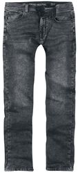 Slim Fit Jeans Black Mud