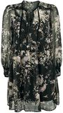 2 in 1 Dress With Floral Pattern