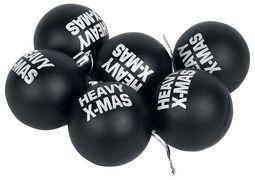 Set di 6 palle di Natale