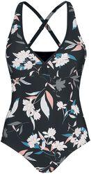 Pastel Flower Swimsuit