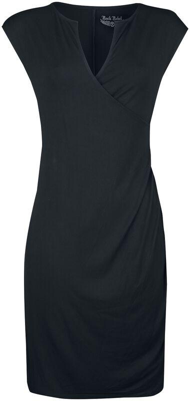 Rock Rebel Dress with Slight Wrap Look