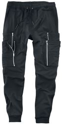 Black Cargo Trousers