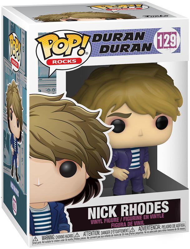 Nick Rhodes Rocks Vinyl Figur 129