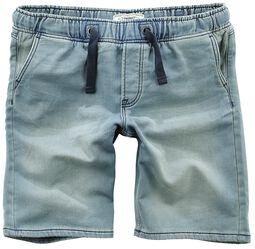 Sweat Denim-Look Shorts