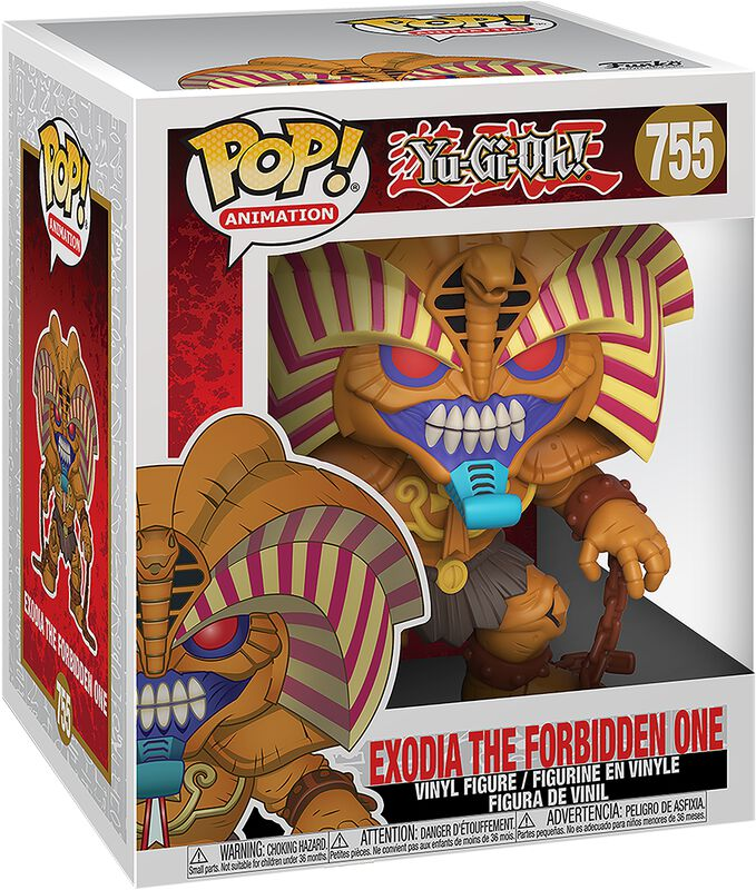 Exodia the Forbidden One (Oversize Figure) Vinyl Figure 755