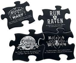 Coaster Set - Gothic Cocktail