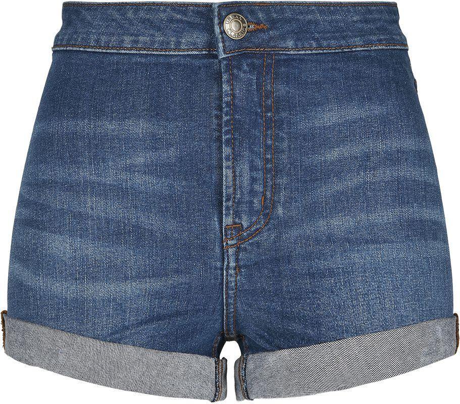 Ladies Slim Fit Denim Shorts