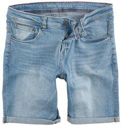 Regular Fit Denim Shorts Light Blues