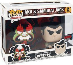 NYCC 2019 - Alu and Samurai Jack (2-Pack) (Funko Shop Europe) Vinyl Figure
