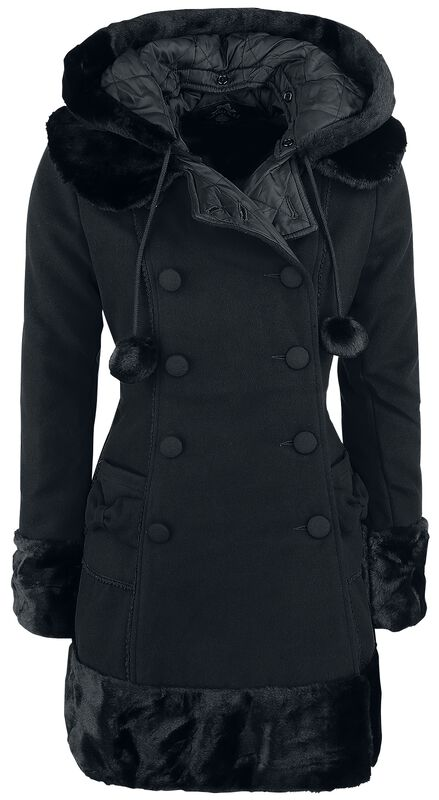 Sarah Jane Coat | Hell Bunny Cappotto invernale | EMP