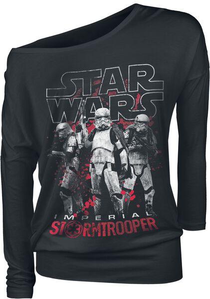Solo: A Star Wars Story - Imperial Stormtrooper Maglia a maniche lunghe
