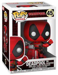 Deadpool on Scooter Vinyl Figure 45